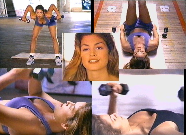 In Addition To Starring The Exercise Which She Developed With Personal Trainer Radu Cindy Also Served As An Executive Producer